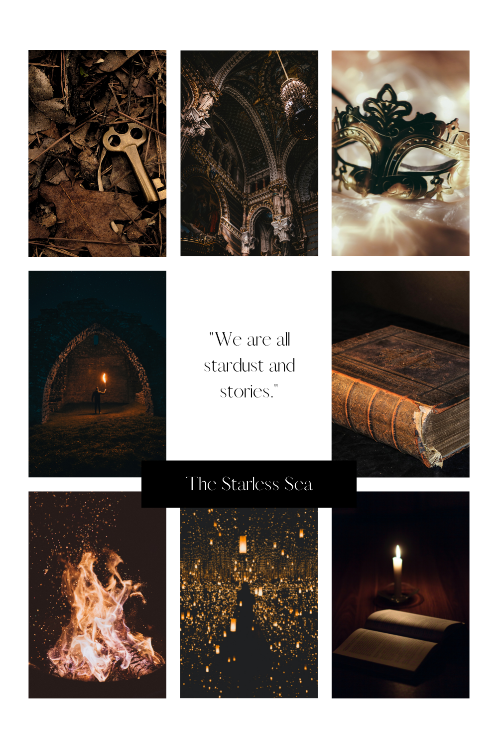 The Starless Sea Collage