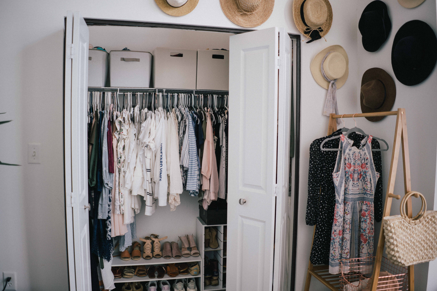An Apartment Closet Tour Organization Process Some Pretty Thing
