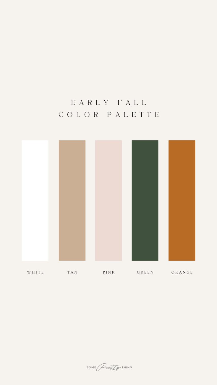 Summer Color Palette Instagram Story