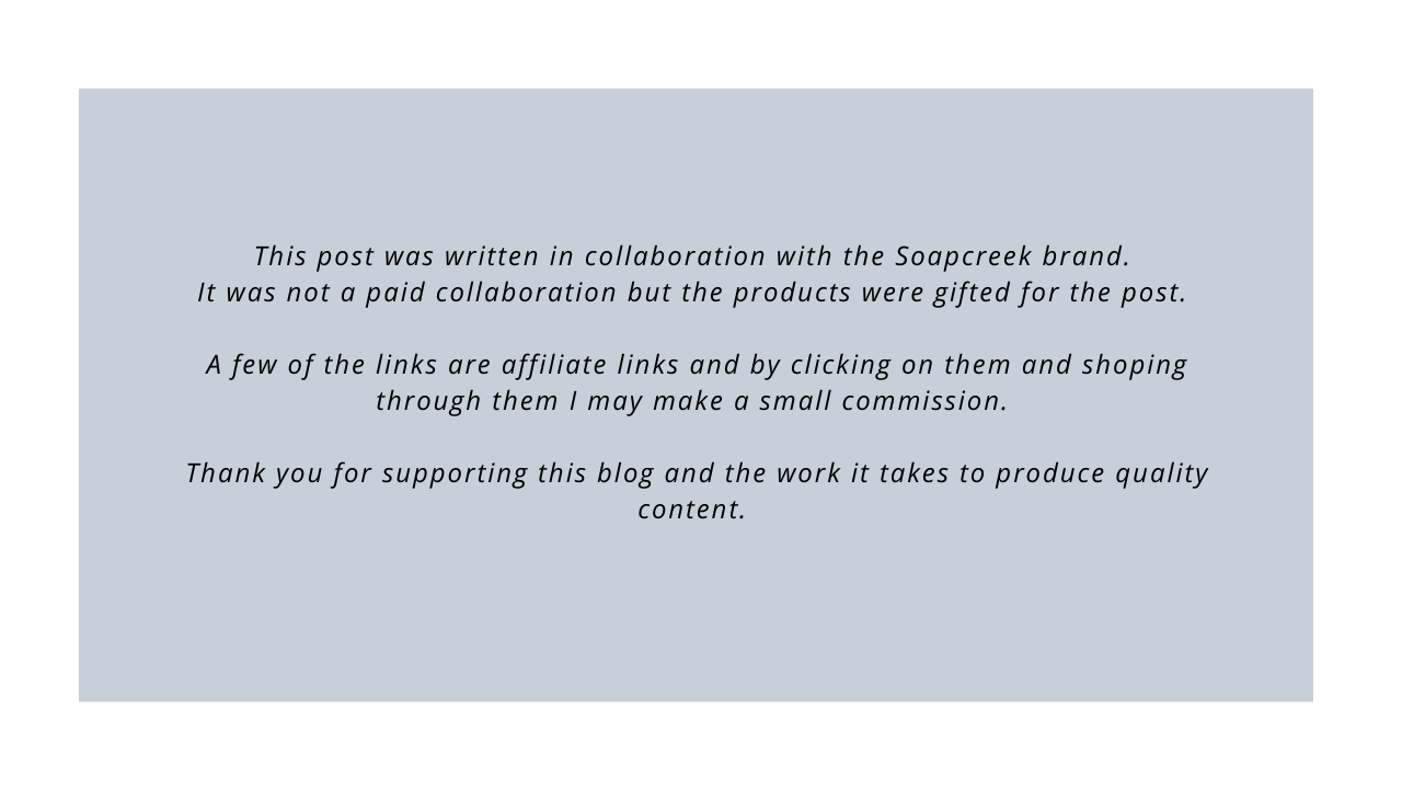 This post was written in collaboration with Soapcreek 2