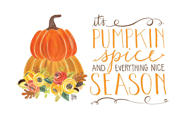 Pumpkin spice wallpaper desktop