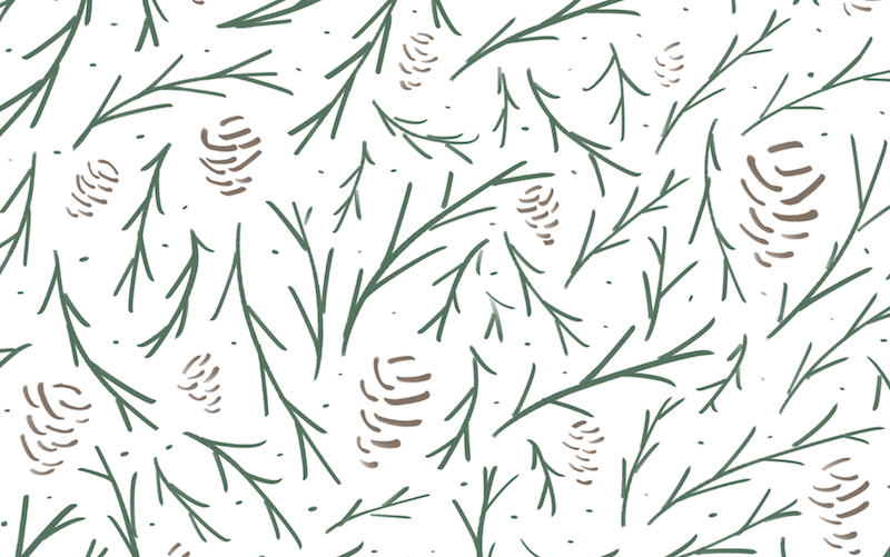 The everygirl january backgrounds pattern small